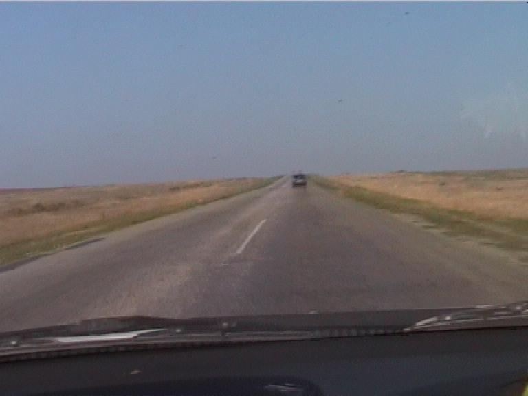 Дорога после Феодосии