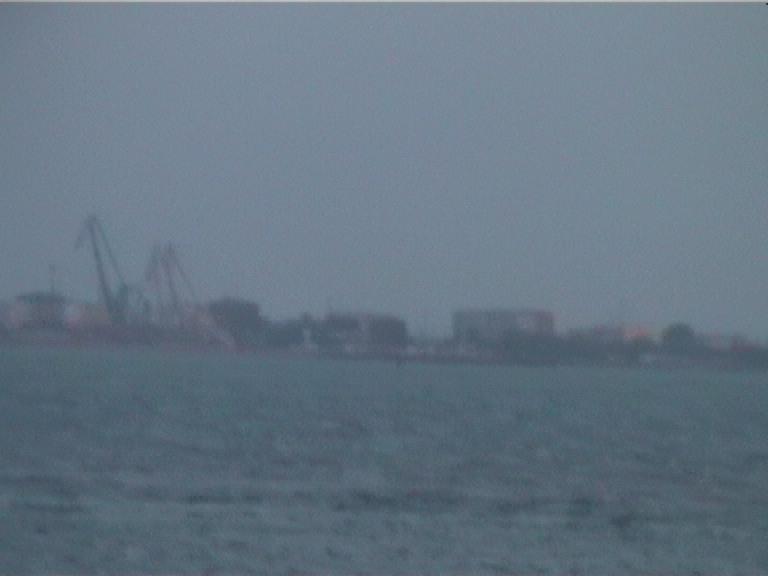 Российский берег. Увеличение в 20 раз:)
