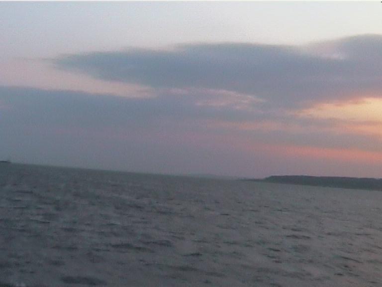 Прощальный взгляд на Крымский полуостров...