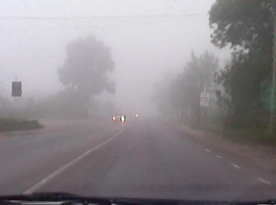 Туман, туман...
